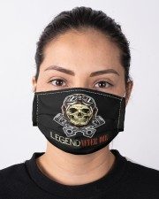 Legend Never Die Cloth face mask aos-face-mask-lifestyle-01