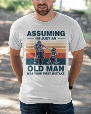 Assuming I'm just an OLD MAN Classic T-Shirt apparel-classic-tshirt-lifestyle-front-50