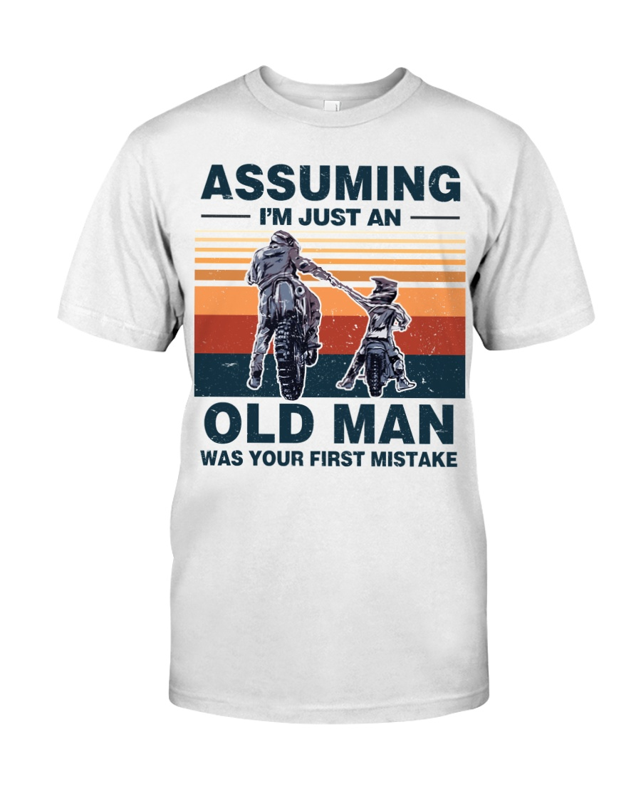 Assuming I'm just an OLD MAN Premium Fit Mens Tee