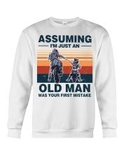 Assuming I'm just an OLD MAN Crewneck Sweatshirt thumbnail