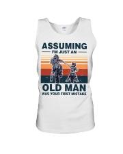 Assuming I'm just an OLD MAN Unisex Tank thumbnail