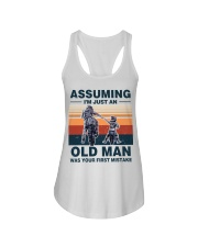 Assuming I'm just an OLD MAN Ladies Flowy Tank thumbnail