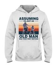 Assuming I'm just an OLD MAN Hooded Sweatshirt thumbnail