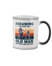 Assuming I'm just an OLD MAN Color Changing Mug thumbnail