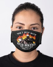 Don't Mess With OLD Bikers Cloth face mask aos-face-mask-lifestyle-01