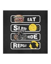 Eat Sleep Ride Repeat Cloth face mask aos-face-mask-coverlet-lifestyle-front-02
