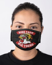 Ride Fast Die Young Cloth face mask aos-face-mask-lifestyle-01
