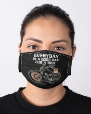 Every day is a good day for a RIDE - PUG Cloth face mask aos-face-mask-lifestyle-01