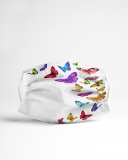 Mask with butterflies 32 Cloth face mask aos-face-mask-lifestyle-22