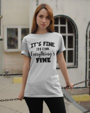 Its fine  Classic T-Shirt apparel-classic-tshirt-lifestyle-19
