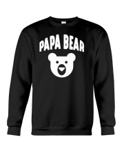 Papa Bear  Funny Father Humor Daddy to Be Crewneck Sweatshirt thumbnail