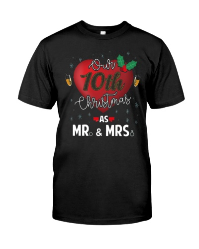 Our Tenth Christmas As Mr and Mrs 10th Anniversary
