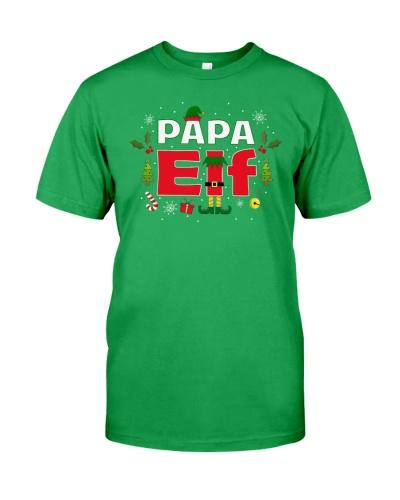 Papa Elf Legs Funny Christmas Costume Santa Helper