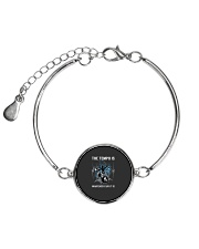 The Tempo Is Whatever I Say It Is Funny Drummer Gi Metallic Circle Bracelet thumbnail