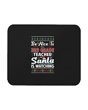 Be Nice To The 3rd Grade Teacher Santa Is Watching Mousepad thumbnail
