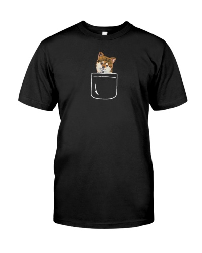 Shiba Dog In Your Pocket Cute Puppy Lover Gift