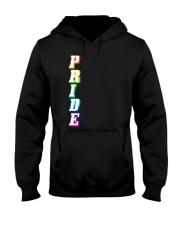 Gay Pride Rainbow Outline Not Straight Vertical LG Hooded Sweatshirt thumbnail