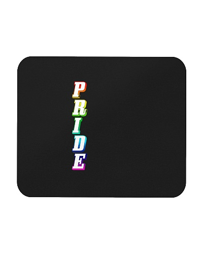 Gay Pride Rainbow Outline Not Straight Vertical LG