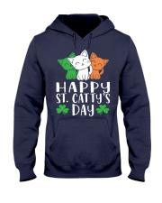 St Patricks Day Cat Lover Kitten Funny Apparel 2 Hooded Sweatshirt thumbnail