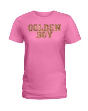 Golden Boy Lucky Wear and You are Golden Ladies T-Shirt thumbnail