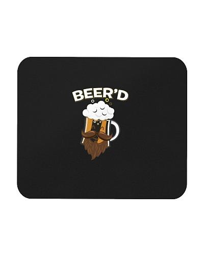 Beerd  Funny Beard Mustache Beer Glass Hipster