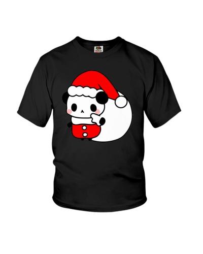 Funny Panda Santa Claus Chrismas Animal Lover