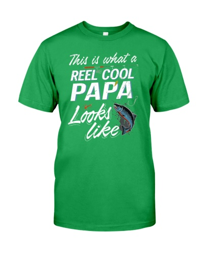 This Is What A Reel Cool Papa Looks Like Funny Fis