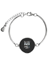 This Is What A Reel Cool Papa Looks Like Funny Fis Metallic Circle Bracelet thumbnail