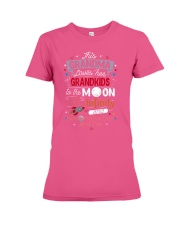 This Grandma Lover Her Grandkids To The Moon And B Premium Fit Ladies Tee thumbnail