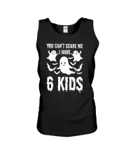 You can not Scare Me I Have 6 kids Halloween Costu Unisex Tank thumbnail
