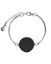 Gangsta Napper Metallic Circle Bracelet front
