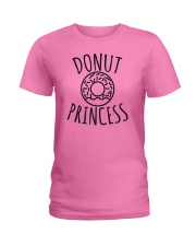 Donut Princess  Funny Doughnuts Lover Humor Ladies T-Shirt thumbnail