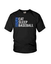 Eat Sleep Baseball Repeat Funny Quote Gag Gift Youth T-Shirt thumbnail