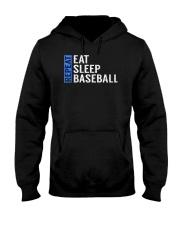Eat Sleep Baseball Repeat Funny Quote Gag Gift Hooded Sweatshirt thumbnail
