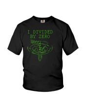 I Divided By Zero  Funny Quantum Physics Space Youth T-Shirt thumbnail