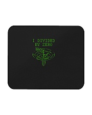I Divided By Zero  Funny Quantum Physics Space Mousepad thumbnail