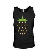 Strawberry Lazy Costume Funny Halloween Spooky Pun Unisex Tank thumbnail