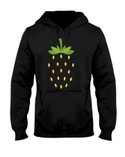 Strawberry Lazy Costume Funny Halloween Spooky Pun Hooded Sweatshirt thumbnail