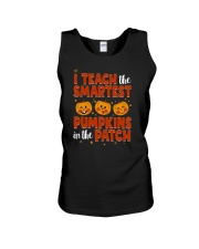 I Teach The Smartest Pumpkins Funny Teacher Autumn Unisex Tank thumbnail