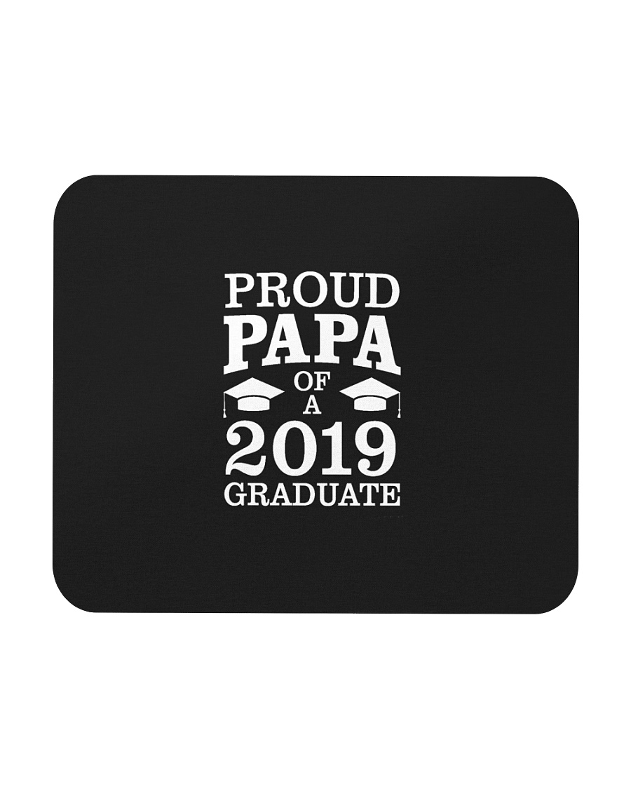 Proud Papa Of 2019 Graduate Father Funny Graduatio Mousepad