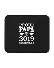 Proud Papa Of 2019 Graduate Father Funny Graduatio Mousepad front