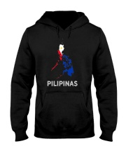 Pilipinas Flag Map Southeast Asian Country Philipp Hooded Sweatshirt thumbnail