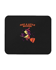 Just A Little Wicked Girl Witch Broomstick Cat Sca Mousepad thumbnail