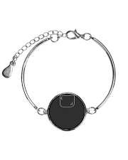 Cute Shih Tzu Puppy in Pocket Dog Lover Gift Metallic Circle Bracelet thumbnail