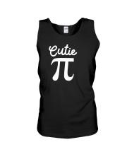 Cutie Pi Symbol Pie  Cute Funny Math Geek Unisex Tank thumbnail