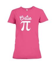 Cutie Pi Symbol Pie  Cute Funny Math Geek Premium Fit Ladies Tee thumbnail