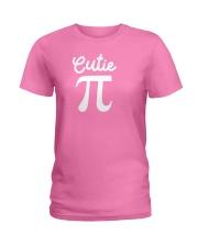 Cutie Pi Symbol Pie  Cute Funny Math Geek Ladies T-Shirt thumbnail