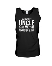 My Favorite Uncle Gave Me This Niece Nephew Gift Unisex Tank thumbnail