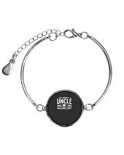 My Favorite Uncle Gave Me This Niece Nephew Gift Metallic Circle Bracelet thumbnail