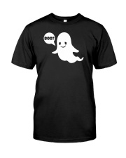 Cute Ghost Boo Funny Ghost Image Halloween Costume Classic T-Shirt thumbnail